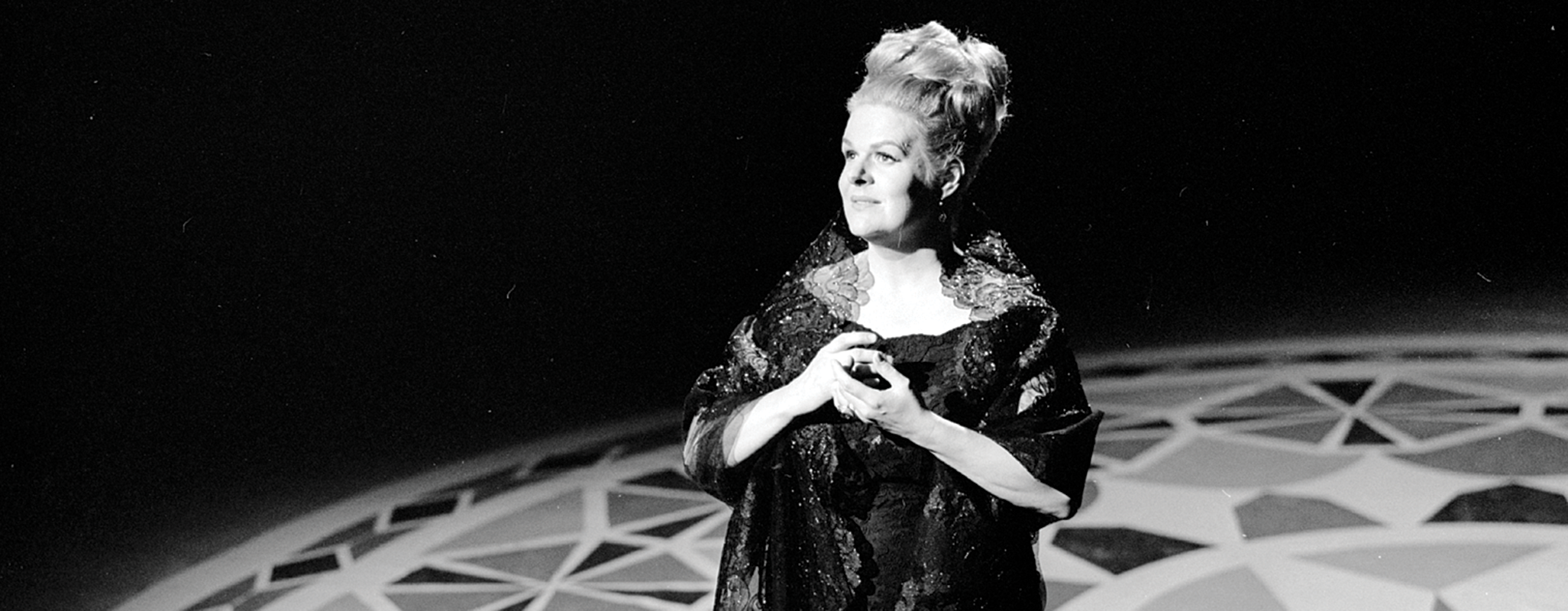 Contralto Maureen Forrester performs in this archival photo