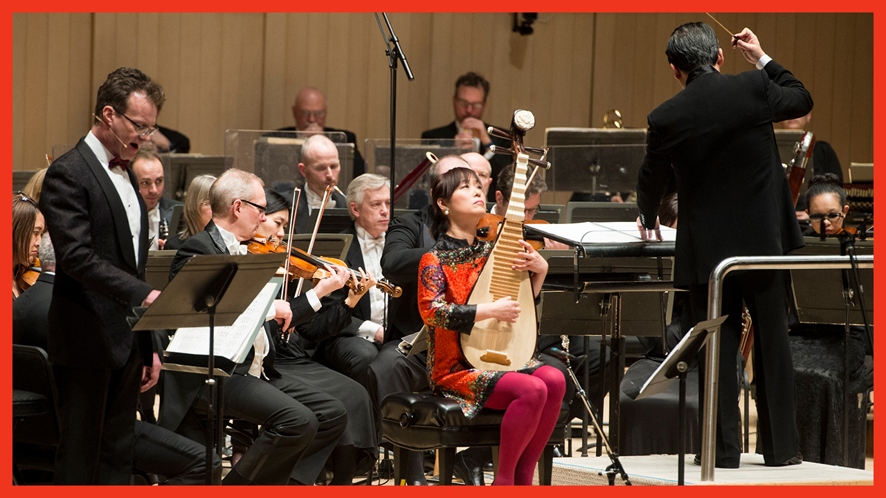 Wu Man, pipa, and the Toronto Symphony Orchestra perform Rejuvenation: A Taoist Journey