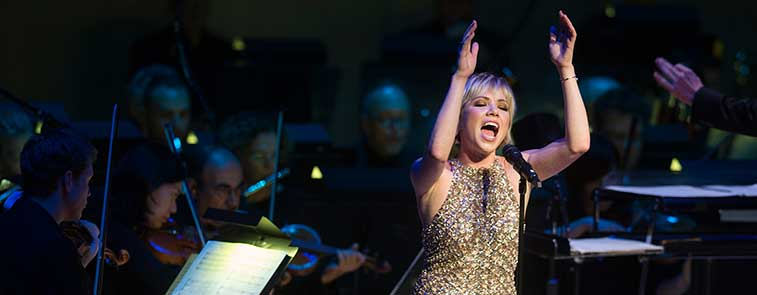 Carly Rae Jepsen performs with the TSO